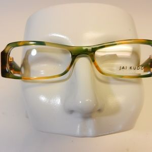 JAI KUDO MOD 1740 P07 EYEGLASSES COLOR GREEN